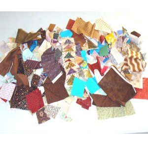 Other - Vintage quilting fabric quilt square material lot